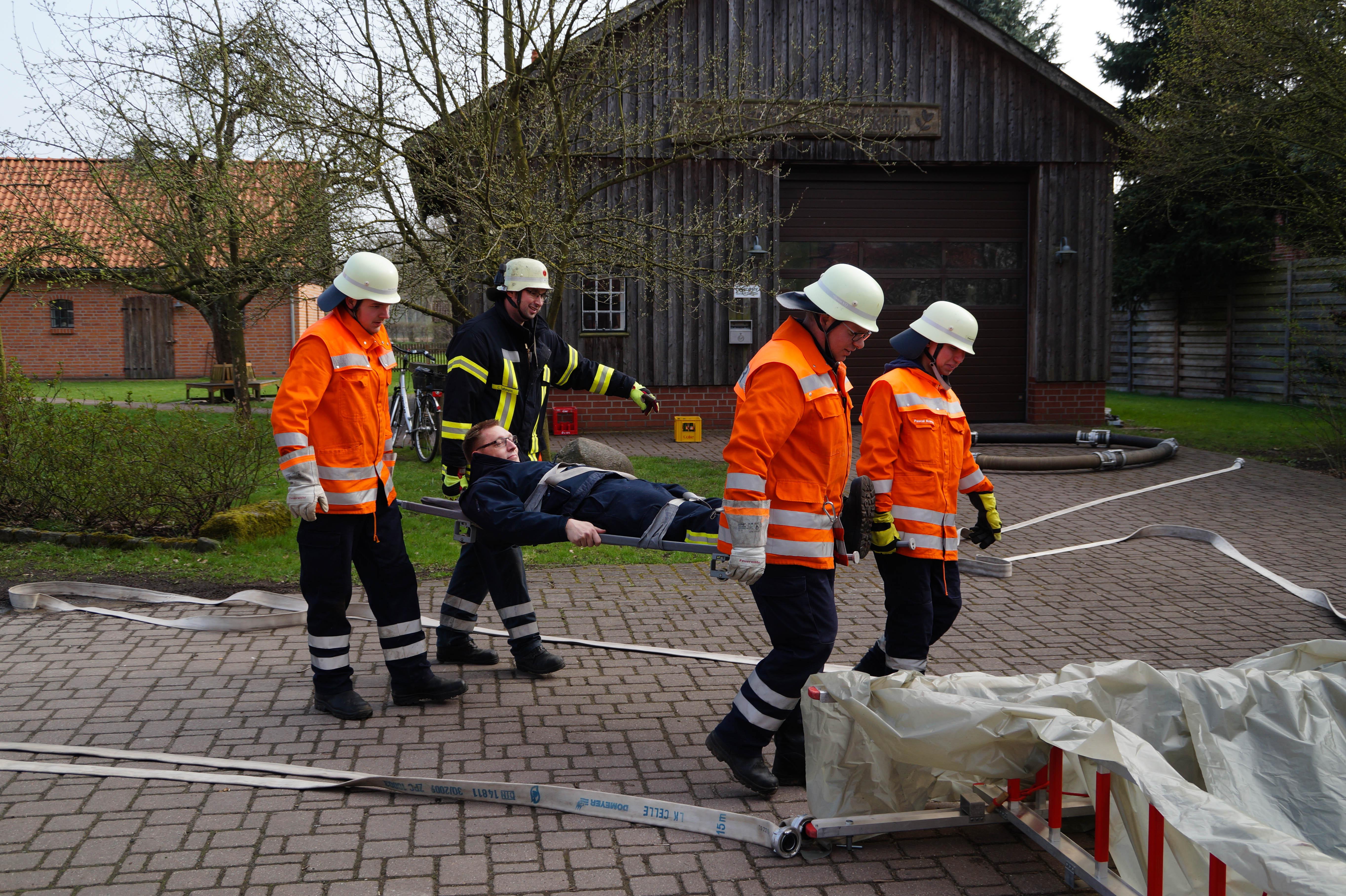 Truppmann-Ausbildung in der Samtgemeinde Flotwedel läuft auf Hochtouren