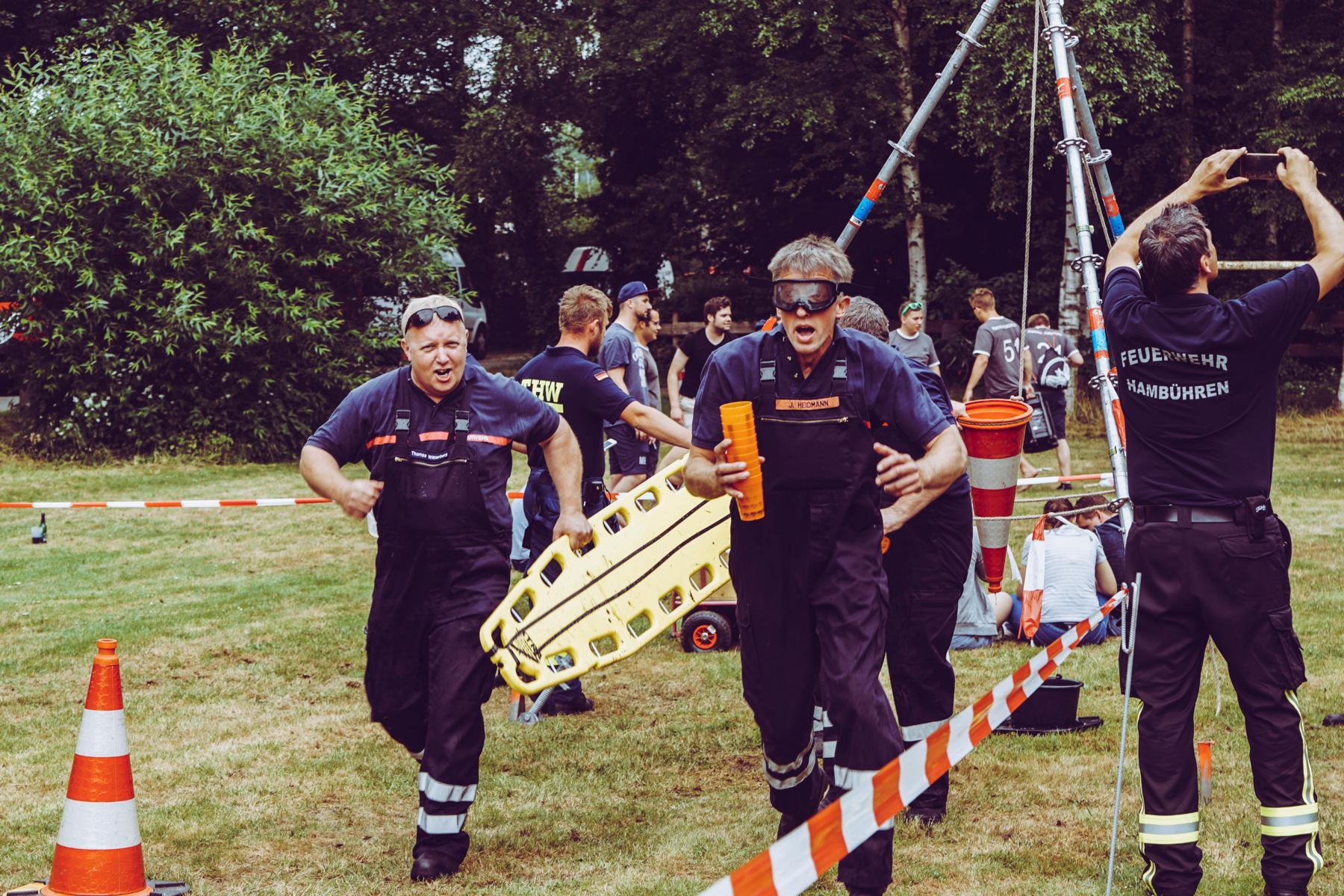 Bericht: Jubiläumsmarsch der Feuerwehr Wiedenrode