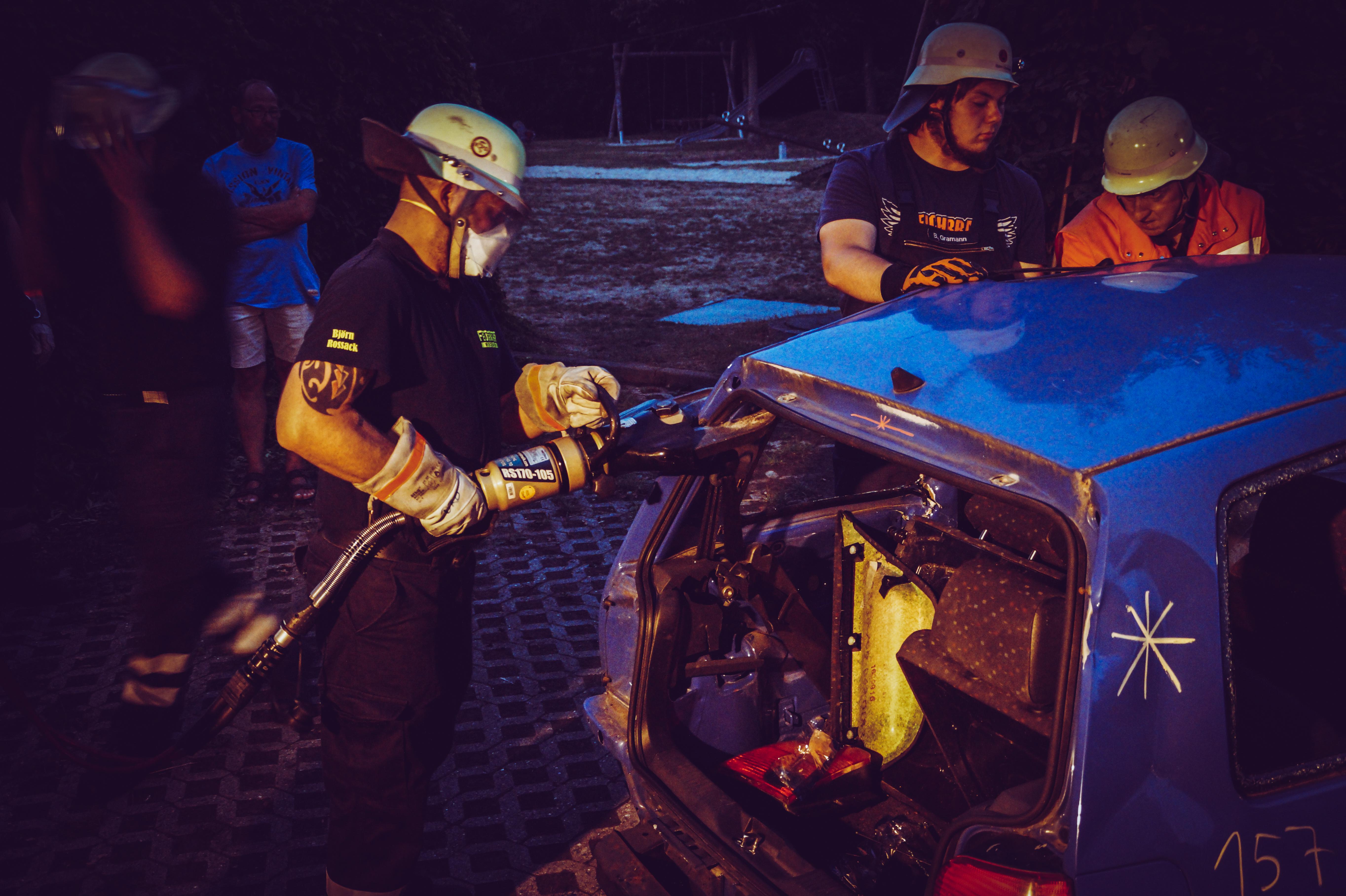 Übungsdienst – Technische Hilfeleistung